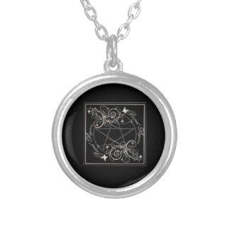 Pentagram Silver Necklace