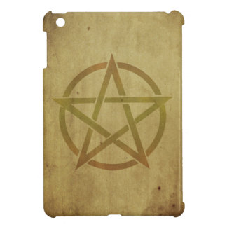 Pentagram Textured iPad Mini Cover