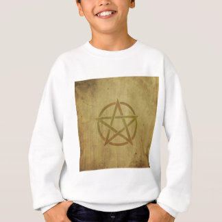 Pentagram Textured Sweatshirt
