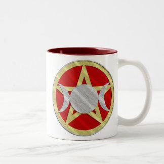 Pentagram Triple Goddess Witches Brew Mug