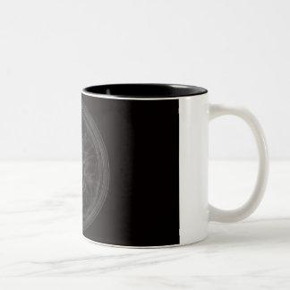 Pentagram Two-Tone Coffee Mug