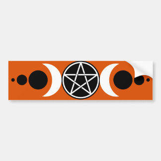 Pentagrams Bumper Sticker