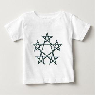 Pentagrams-interlaced-pattern Baby T-Shirt