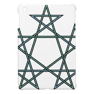 Pentagrams-interlaced-pattern iPad Mini Cover