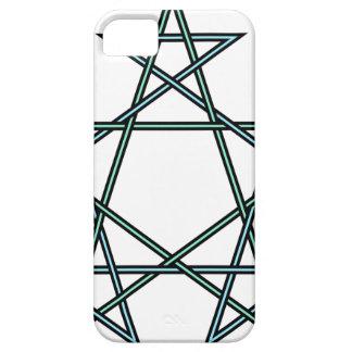 Pentagrams-interlaced-pattern iPhone 5 Covers