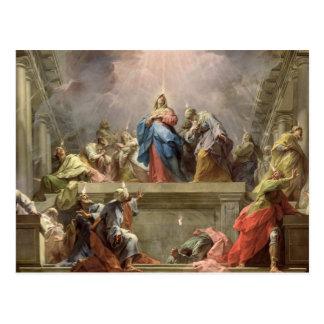 Pentecost, 1732 postcard