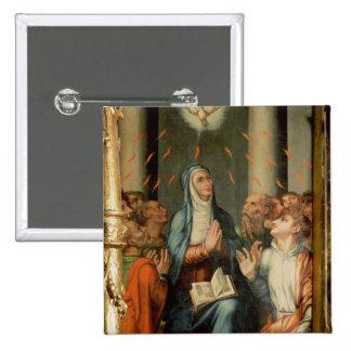 Pentecost 2 Inch Square Button
