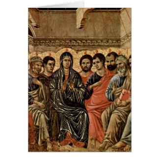 Pentecost By Duccio Card