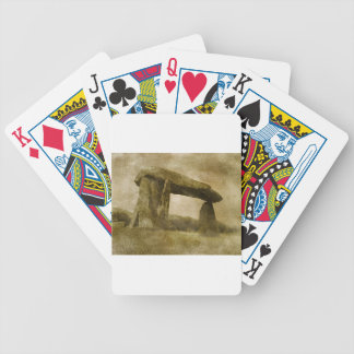 Pentre Ifan Bicycle Playing Cards