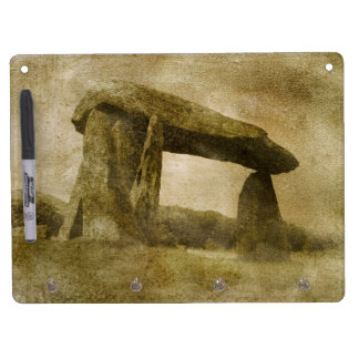 Pentre Ifan Dry Erase Board With Keychain Holder