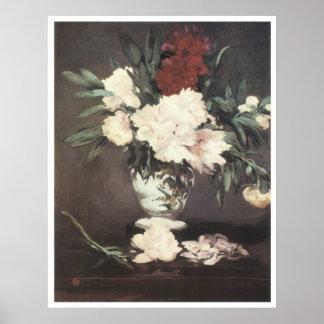 Peonies, 1864 Edouard Manet Posters
