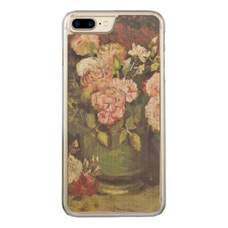 Peonies and Roses Vincent van Gogh GalleryHD Art Carved iPhone 8 Plus/7 Plus Case