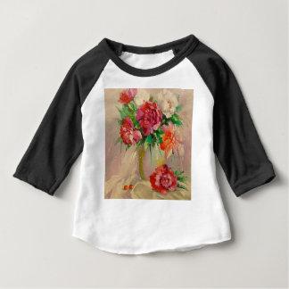 Peonies Baby T-Shirt