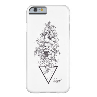 Peonies Dotwork Barely There iPhone 6 Case