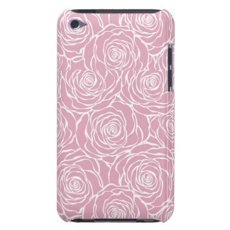 Peonies,floral,white,pink,pattern,girly,modern,bea iPod Touch Case-Mate Case