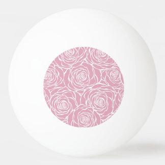 Peonies,floral,white,pink,pattern,girly,modern,bea Ping Pong Ball