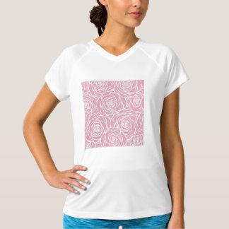 Peonies,floral,white,pink,pattern,girly,modern,bea T-Shirt