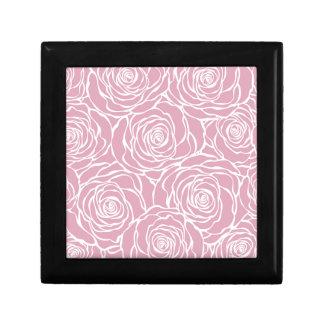 Peonies,floral,white,pink,pattern,girly,modern, Gift Box
