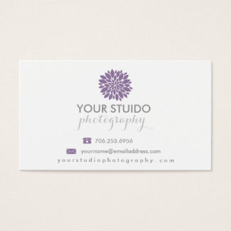 Peonies Photography Business Card | Photography