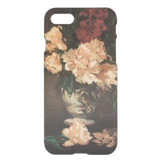Peonies Still Life by Edouard Manet Fine Art iPhone 7 Case