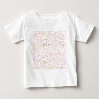 Peonies touch of gold baby T-Shirt