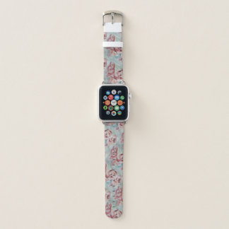 Peonies watch band