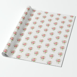 Peonies Wrapping Paper
