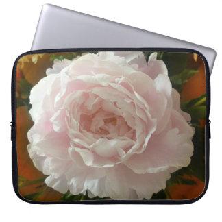 Peony beauty laptop sleeve