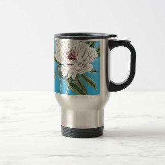 Peony Blue Travel Mug