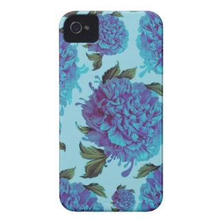 Peony Blues Case-Mate iPhone 4 Case