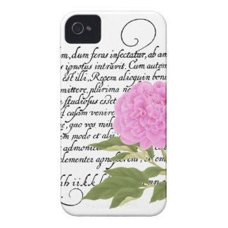 Peony Case-Mate iPhone 4 Cases