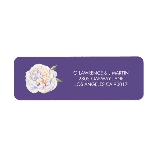 Peony Floral Bloom Violet Purple