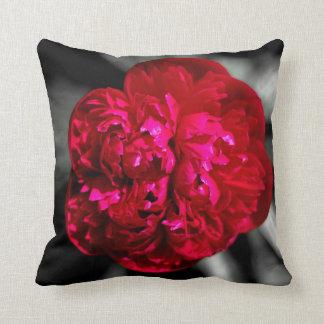 Peony Flower Cushion