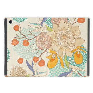 Peony Flower Pattern iPad Mini Case