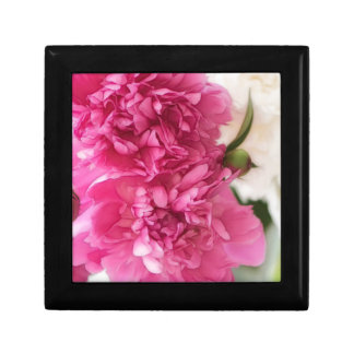 Peony Flowers Close-up Sketch Gift Box