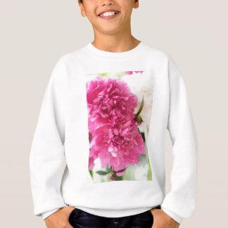 Peony Flowers Close-up Sketch Sweatshirt