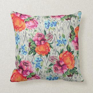 Peony Flowers Nature Modern Pillow