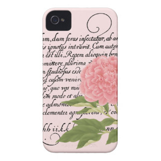 Peony iPhone 4/4S Case-Mate Case, Flower, Botanica iPhone 4 Case