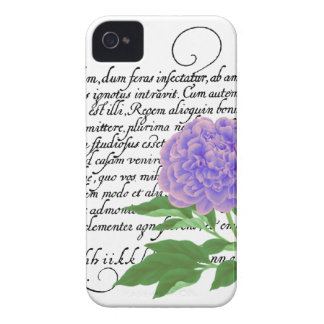 Peony iPhone 4/4S Case-Mate Case, Flower, Botanica iPhone 4 Cases