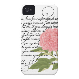 Peony iPhone 4/4S Case-Mate Case, Flower, Botanica iPhone 4 Cover