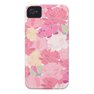 Peony iPhone 4 Case-Mate Cases