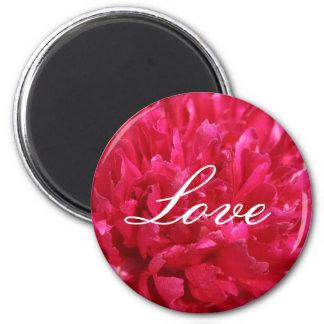 Peony Love Magnet