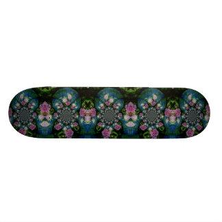 Peony Mandala Skate Board Deck