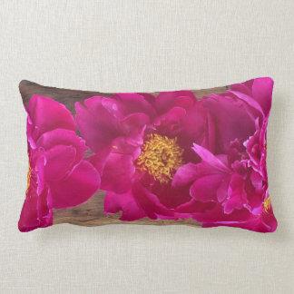 Peony pillow