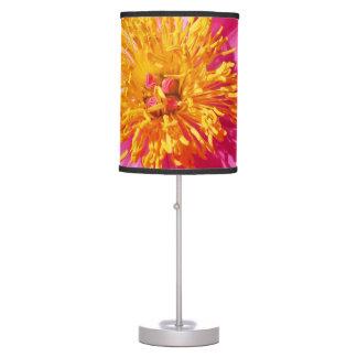 Peony Pink Flower Blossom Desk Lamp