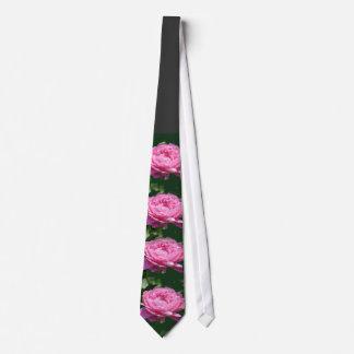 Peony Pink Rose Tie