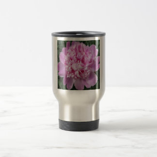 Peony Pink Shade 15 Oz Stainless Steel Travel Mug