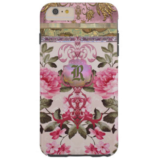 Peony Place Monogram Plus 6/6s Tough iPhone 6 Plus Case