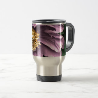 Peony Rain in Color Travel Mug