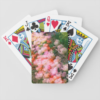 Peony Tulips in Full Bloom Bicycle Playing Cards